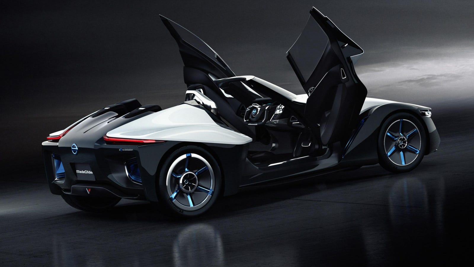 The Nissan BladeGlider Is A Three-Seater DeltaWing For The ...