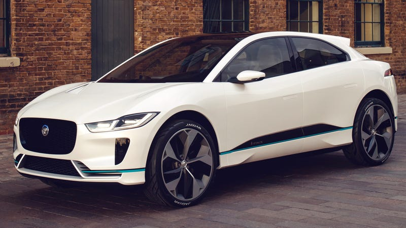 The Jaguar I-Pace, one of many Paces.
