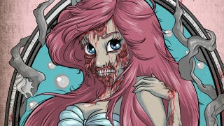 Illustration for article titled These zombie Disney Princesses are downright childhood-ruining