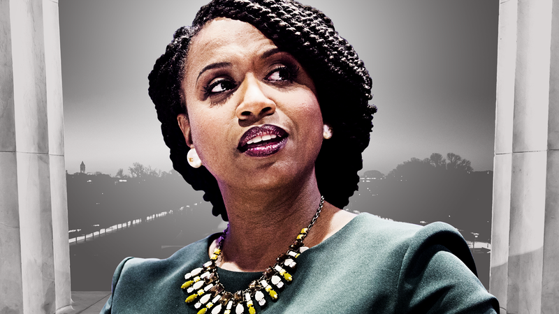 Illustration for article titled Ayanna Pressley Goes to Washington