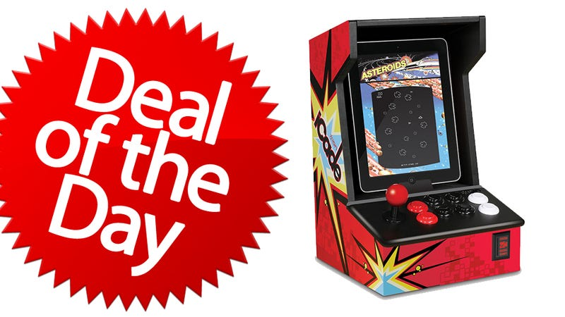 Illustration for article titled This iCade Arcade Cabinet is Your No-Quarters-To-Play Deal of the Day