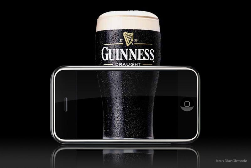 Illustration for article titled iPhone In Ireland and Austria Gives Us Excuse to Talk Beer