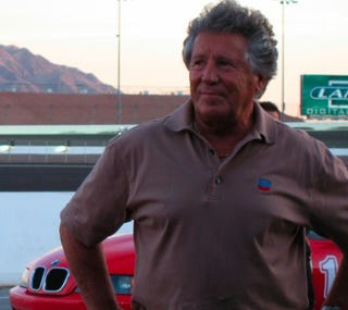 Illustration for article titled Mario Andretti and a PR Flim-Flam at Las Vegas Speedway