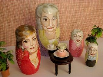 Illustration for article titled OMG: Golden Girls Nesting Dolls