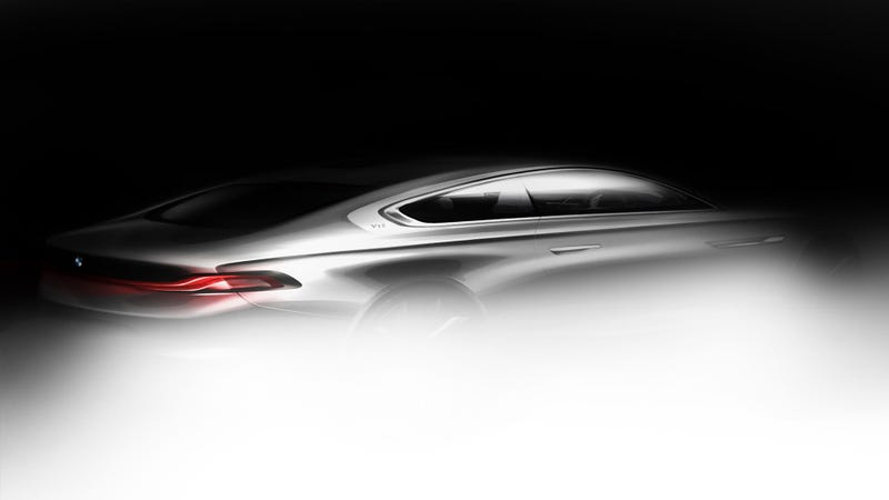 Illustration for article titled This Is (Some Of) The BMW Gran Lusso Coupé By Pininfarina