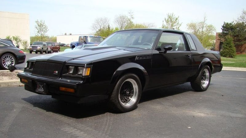 This is what a 1987 Buick GNX that has traveled 10 miles ...