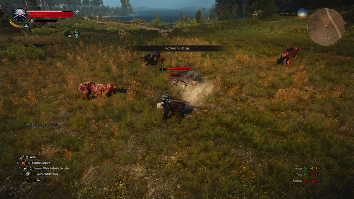 Geralt Must Eat Or Die In New Witcher 3 Mod