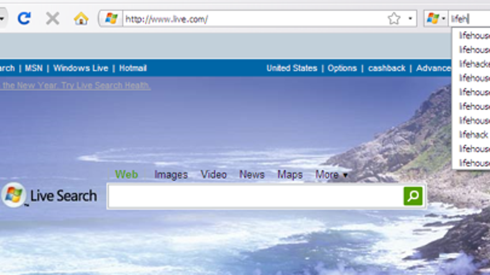 Official microsoft live search extension comes to firefox publicscrutiny Images