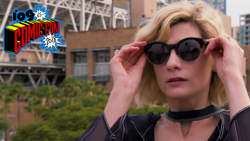 Jodie Whittaker: Actress. Time Lord. Fashion Queen of Comic-Con.