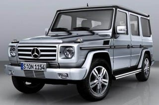 Illustration for article titled 2009 Mercedes Benz G-Class Gets More Power, Still Delightfully Ugly