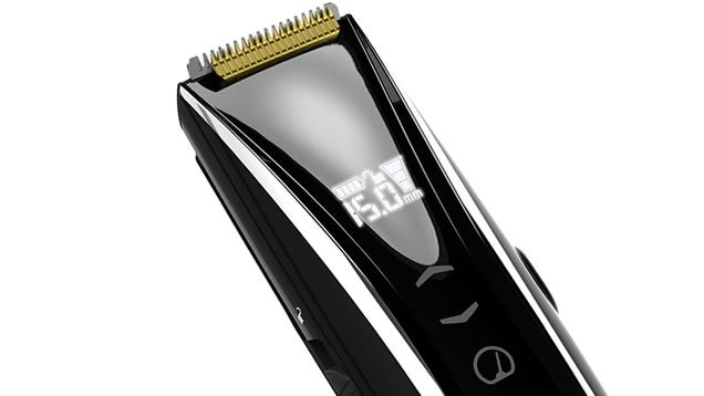 remington 39 s touchscreen stubble trimmer offers precise adjustments. Black Bedroom Furniture Sets. Home Design Ideas