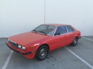 Illustration for article titled This Maserati BiTurbo Electric Conversion From Wheeler Dealers Doesn't Have Any Turbos