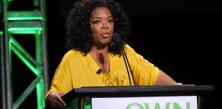 Oprah Winfrey tops Forbes' list of richest female entertainers. (Getty)