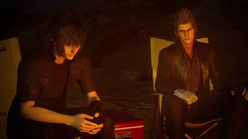 Illustration for article titled The best part of Final Fantasy XV's demo is the campfire camaraderie