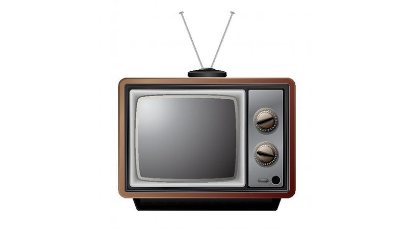 Image result for old-fashioned TV rabbit ears