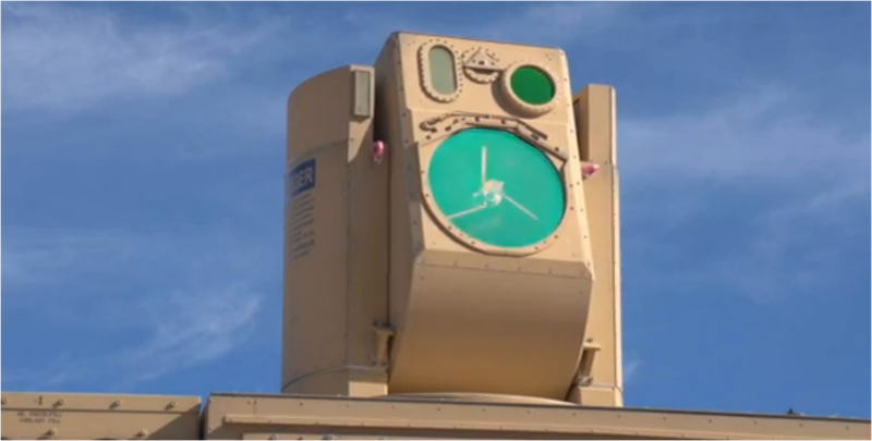 Este avanzado cañón láser antidrones se maneja con un mando de Xbox