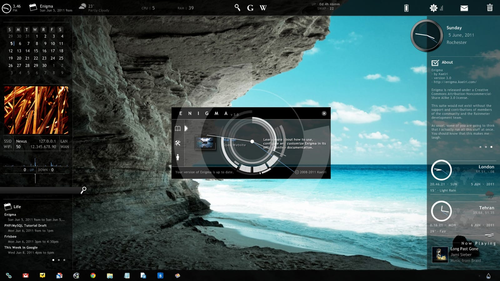 Six Awesome Rainmeter Suites That Turn Your Desktop Into A