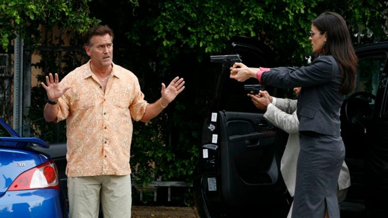 """Illustration for article titled Burn Notice: """"Dead To Rights"""""""