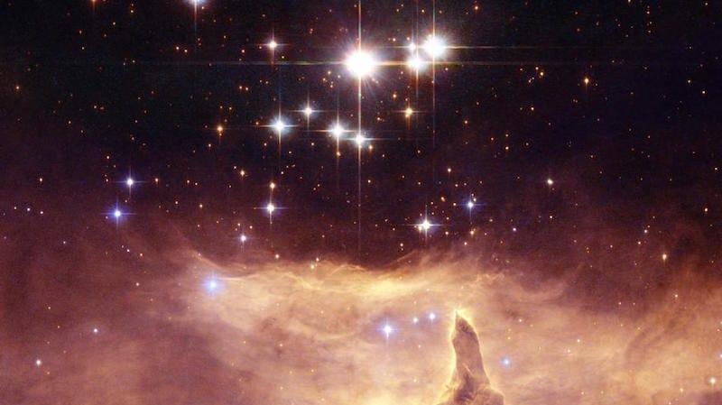 La constelación Escorpio le interesa a la NASA. Que tu seas de signo Escorpio, no. (Imagen: NASA).