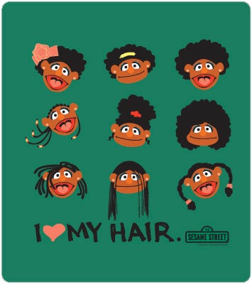 Illustration for article titled I Love My Hair, The T-Shirt