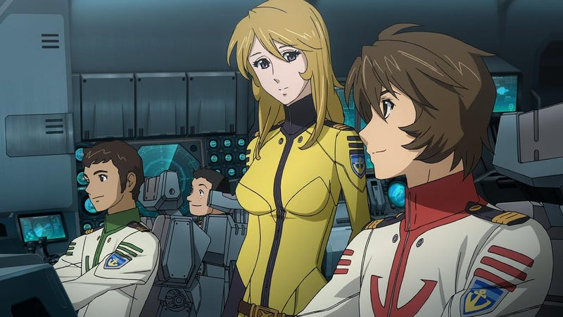 "Illustration for article titled Here it is the first trailer of ""Space Battleship Yamato 2202: Warriors of Love"" Movie"