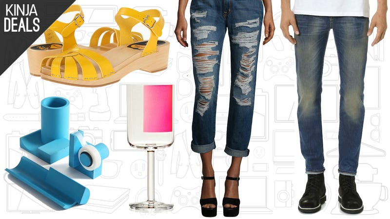 Illustration for article titled Today's Best Apparel Deals: Swedish Hasbeens,Vera Wang,Herschel