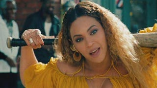 Beyoncé didn't speak softly but carried a big stick in Lemonade.HBO screenshot