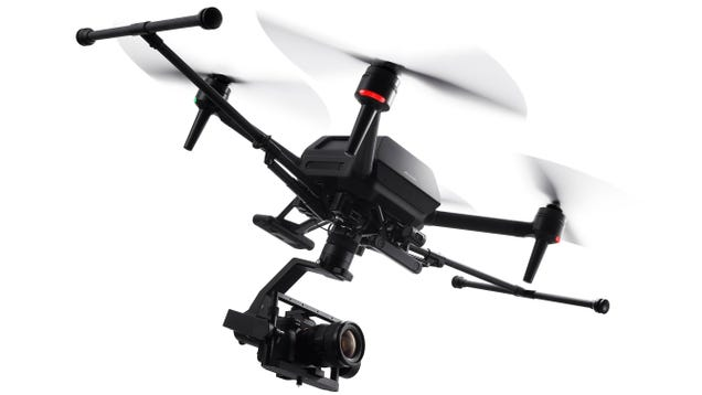 Sony s First Drone Is a $9,000 Professional-Grade Beast