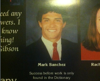 Illustration for article titled Mark Sanchez Was A Goofy High School Kid, Like Everyone Else