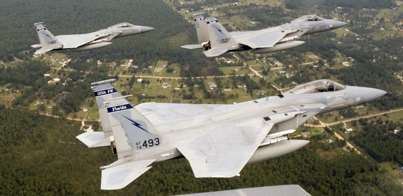 Illustration for article titled Florida Air Guard F-15C Eagles To Deploy To Russia's Doorstep