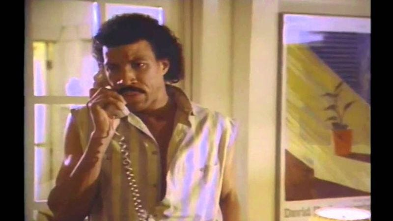 """Illustration for article titled """"Hello"""" without music basically makes Lionel Richie a stalker"""