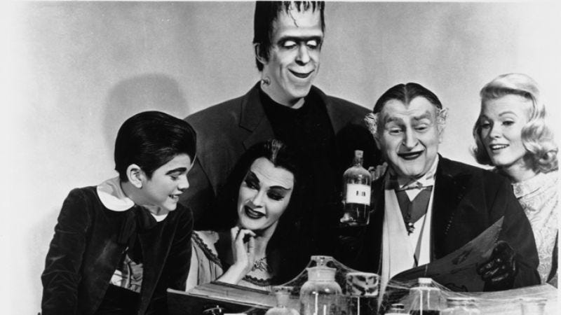 """Illustration for article titled NBC is all about this """"edgier"""" version of The Munsters"""