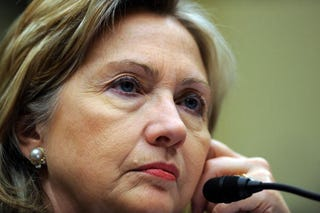 Hillary Clinton in 2010 TIM SLOAN/AFP/Getty Images