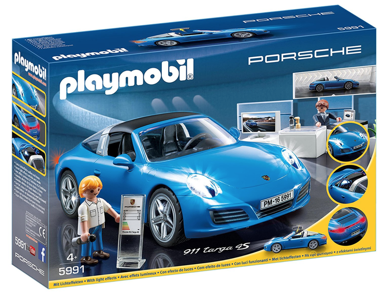 Illustration for article titled Let Your Child Experience The Joys Of Leasing With This Porsche Dealership Playset