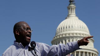 Herman Cain in 2012Win McNamee/Getty Images