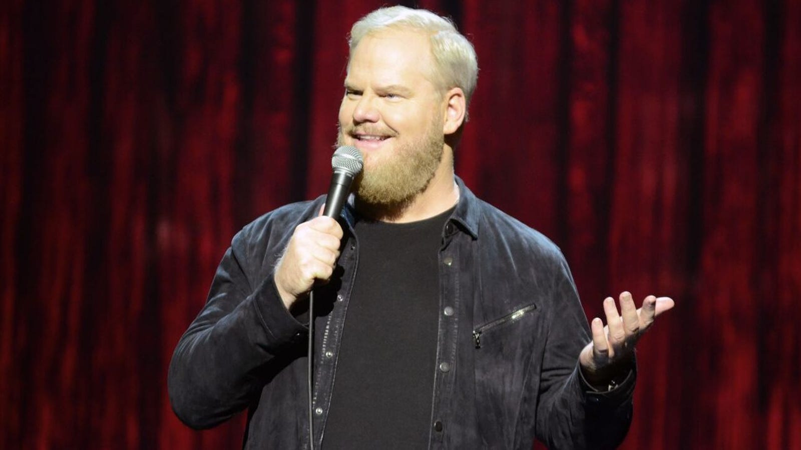 Jim Gaffigan turns near-tragedy into reassuring comedy in Noble Ape