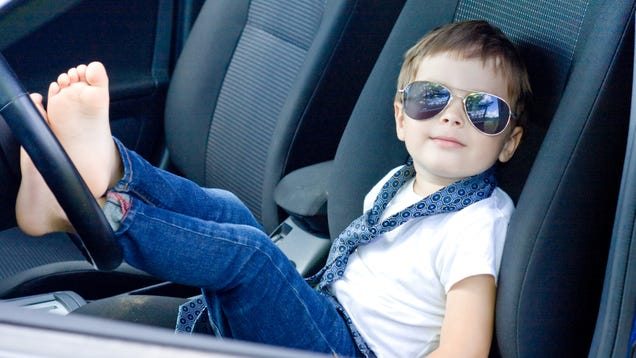 When Can Kids Ride in the Front Seat of the Car?