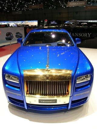 """Illustration for article titled The Mansory Ghost Positively Screams """"Screw You, I'm Filthy Rich!"""""""