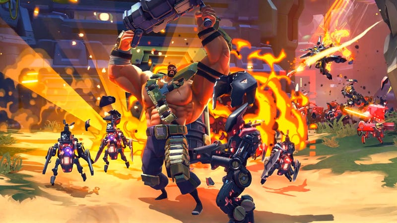 Battleborn competitive multiplayer goes free to play