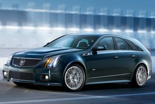 Illustration for article titled Cadillac CTS-V Sport Wagon: Baby Got Badass Back