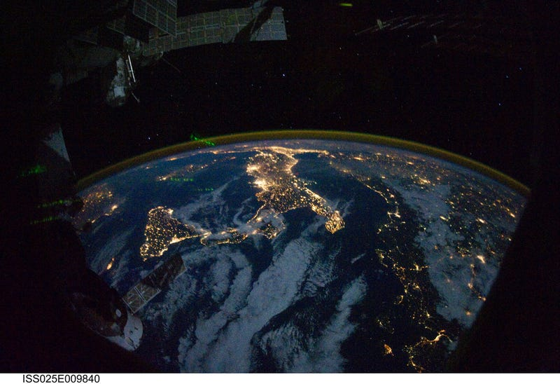 What Do These Nighttime Satellite Photos Reveal About Civilization - World satellite night view