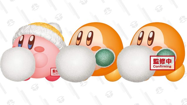 I Just Cannot Get Over These Wintertime $25 Kirby Figurines, Up For Pre-Order Now