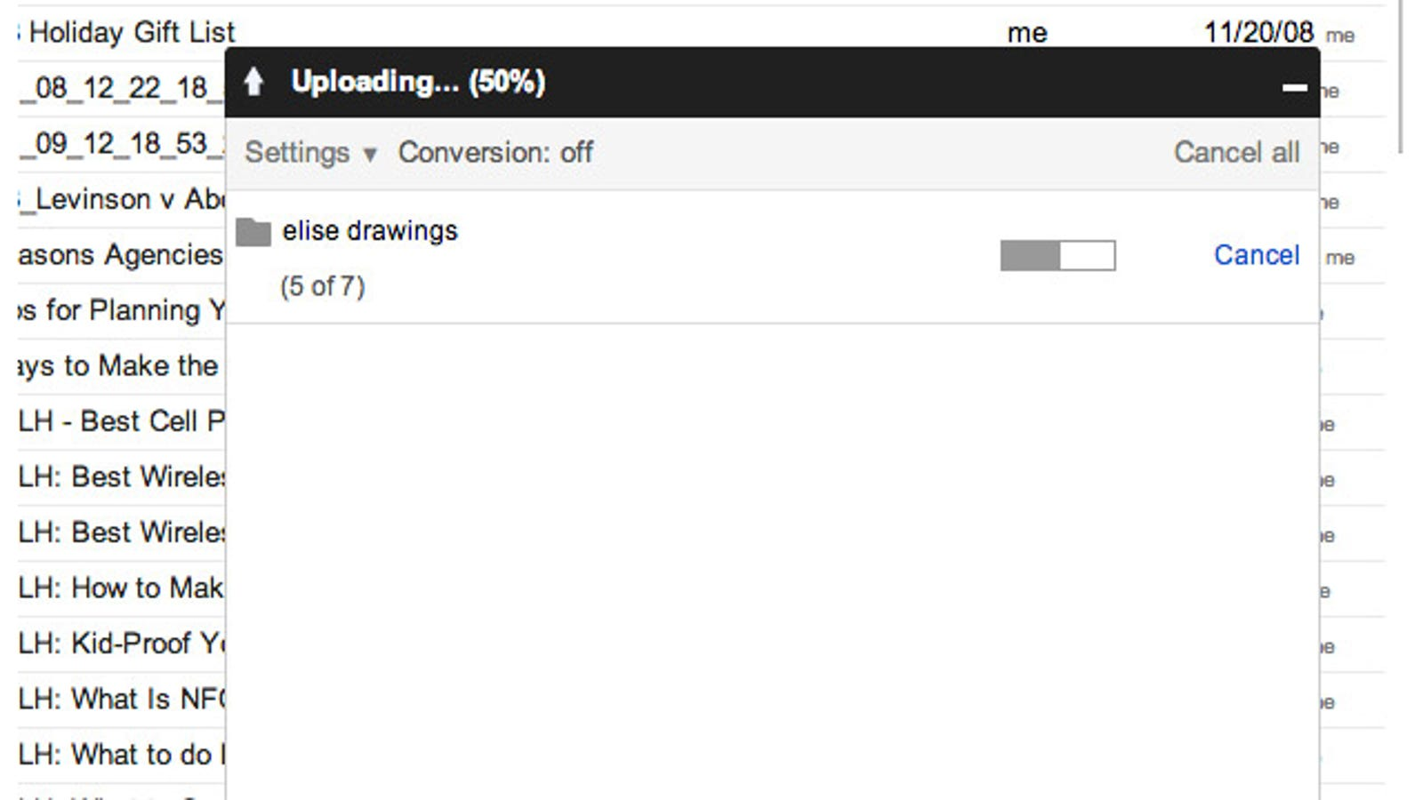 Upload Folders to Google Drive Faster by Dragging-and