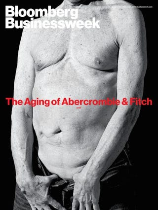 Illustration for article titled BusinessweekDepicts Abercrombie & Fitch as an Old Shirtless Man