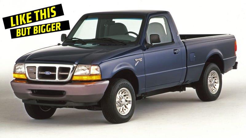 Ford Ranger EV, I miss you. Photo: Ford