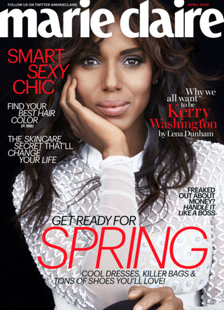 Kerry WashingtonMarie Claire
