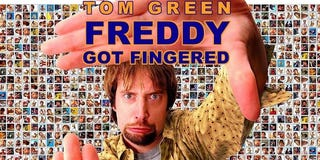 "Illustration for article titled Shock, as man in long overdue Freddy Got Fingered-related arrest is ""not Tom Green""."