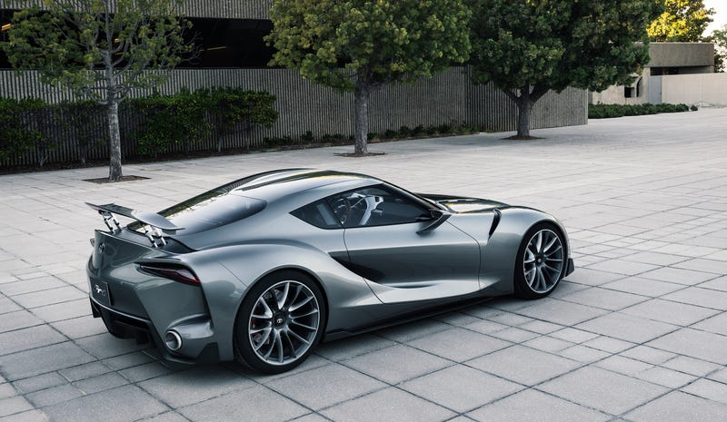 Pictured: The Toyota FT-1 concept everyone expects will be the next Supra. Please. Please. Photo Credit: Toyota.