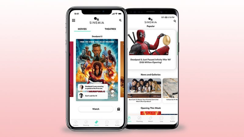 Illustration for article titled MoviePass Rival Sinemia Drops Prices to Dirt Cheap on Weekdays