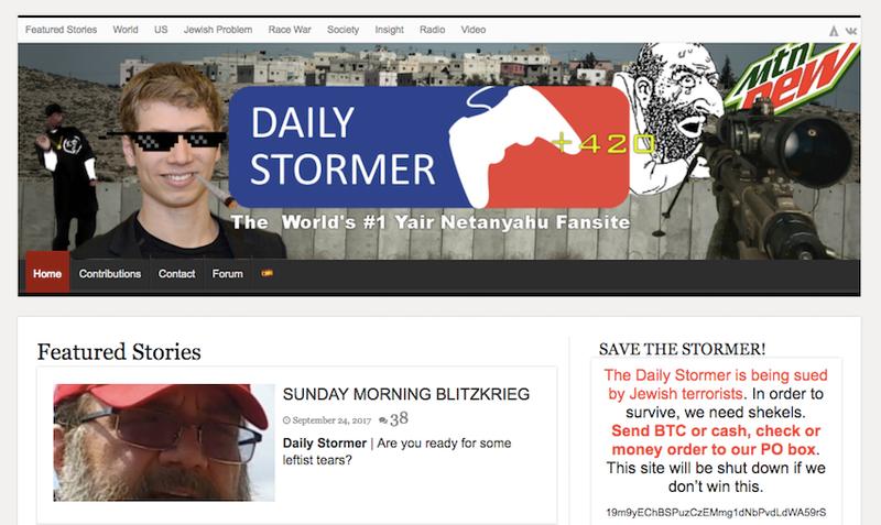 Illustration for article titled Islandia contempla el futuro de The Daily Stormer, la web neonazi que ningún proveedor quiere